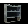 Van Shelving Storage Unit 38L x 44H x 13D - Full Size Van -GMC, Chevy, Ford