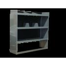 Van Shelving Storage Unit 45L x 44H x 13D - Full Size Van -GMC, Chevy, Ford