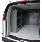 Van Shelving - Base Package - Set of 2 Shelves, GMC, Chevy, Ford