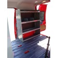 "Ford Transit Connect Shelving Unit 32""Lx44""Hx13""D"