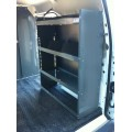 "Nissan NV200 Van Shelving Unit 32""Lx44""Hx13""D"