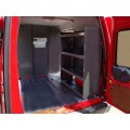 "Ford Transit Connect Van Shelving Storage Unit 38""Lx44""Hx13""D"