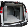 "Van Modular Shelving Storage with Door Kit - 45""L x 44""H x 13""D"