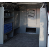 """Chevy Express Full Size Van Safety Partition, Bulkhead with 10"""" opening"""